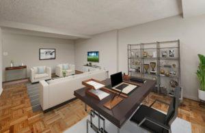4000 Mass Ave Apartments lobby