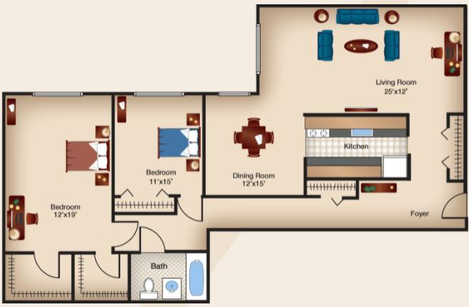 Two Bedroom III