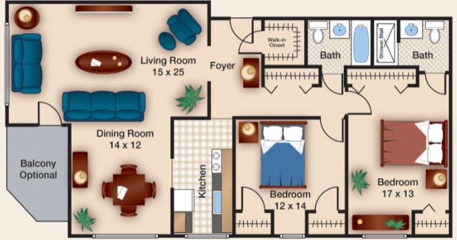 Two Bedroom V